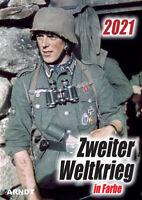Zweiter Weltkrieg Kalender in Farbe 2021 - 14 Farbige Kalenderblätter