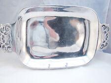 Nambe 214 Pierced Handle Platter (18 inch) READ