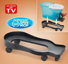 Hurricane Spin Mop DOLLY Home Kitchen Cleaning Tool 360 Rolling Swivel Wheel