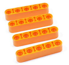 LEGO Technik - 4 x Liftarm dick 1x5 orange / 32316 NEUWARE