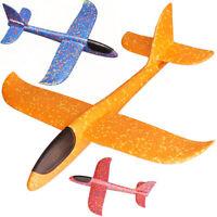 Regalo juguete niños avión de lanzamiento mano espuma planeador al aire libre