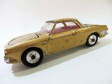 CORGI 239 'VW 1500 KARMANN GHIA' GOLD, RED INTERIOR. GOOD. VINTAGE. RARE.