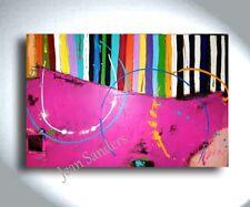 JEAN SANDERS - 150 x 100 x 4 cm - XXL - bunt. modern,abstrakt
