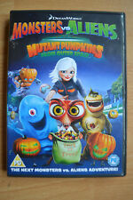 Monsters vs Aliens DVD