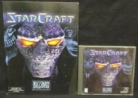 StarCraft (PC, 1998) Game + Manual - Mint Disc 1 Owner !