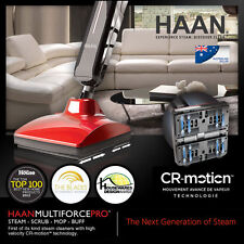 Next Generation of Steam HAAN Ss-a25 Indoor & Outdoor Floor Scrubbing Steamer