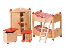 Goki Puppenmöbel Puppenhausmöbel Kinderzimmer rot 51953