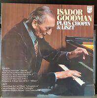 Isador Goodman - Plays Chopin & Listz - 1978 Australian pianist LP record