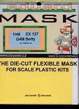 Eduard 1/48 G4M Betty paint mask for Tamiya kit # EX127