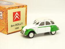 Norev Hachette 1/43 - Citroen 2CV Dolly 1985 Verte