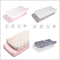 Infant Soft Plush Baby Diaper Change Changing Pad Cover Semi-Waterproof 2 Pack