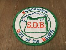 "Oregon ""SOB Sidebander Out of the Blues"" Vintage 4"" CB Radio Club Patch Blue Mtn"