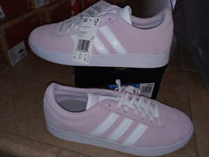 NEW $54 Womens Adidas VL Court 2.0 Shoes, size 9.5