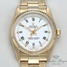 Rolex Oyster Perpetual 31 mm Medium dorado 750 Automatik Datejust Gold