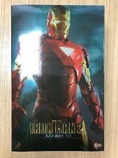 Hot Toys MMS 132 Iron Man 2 Mark VI 6 Tony Stark 12 inch Action Figure NEW
