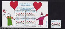 Greenland - 2007 Kalaallit Nunat - U/M - SG 518 + 518 Sheetlet of 4