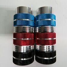 BMX Axle Pegs  3/8 in  Silver Red Blue Black Threadless