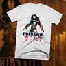 Vintage Action Movie T-Shirt Akira era Cyberpunk Alien Warrior Hunter Predator