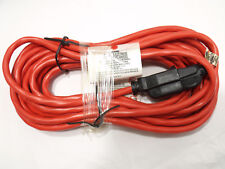 25' Orange Electrical Extension Cord AWG 16/3 SJTW 13A Light Duty Indoor Outdoor