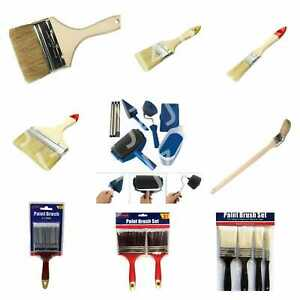 Paint Diy Brush Brushes Decorating Set 2 4 6 Professional wall Ceiling wooden