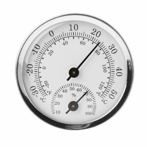 Humidity Thermometer Hygrometer Meter Houses Offices Workshops Indoor Analog