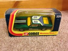 Corgi WhizzWheels No.329 Mustang Mach 1 Car  - Boxed