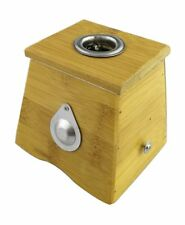 Caja De Bambú Para Cilindros Moxa Terapia Moxibustión Medicina Tradicional China