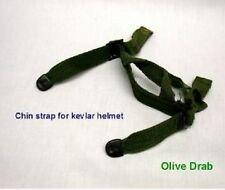 US Army PASGT Helmet Chin Strap Kevlarhelm helm Kinn Riemen OD Green
