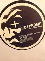 """Potential Bad Boy ft Yush- Off Road 12"""" Drum and Bass Jungle Vinyl Jekyll & Hyde"""
