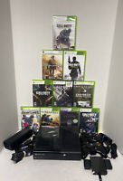 WOW 250GB COD CALL OF DUTY BUNDLE Xbox 360 E Slim System Console 2 Cons Cords