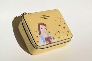 Disney X Coach Belle Jewelry Box  NWT