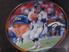 1998 John Elway King of the Mountain TRIUMPH IN KANSAS CITY Ltd Ed Plate