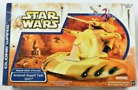 Star Wars The Clone Wars 2003 Separatist Forces Armored Assault Tank (AAT) MIB