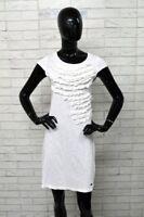 Vestito Donna REPLAY Taglia S Abito Dress Tubino Bianco Elastico PARI AL NUOVO