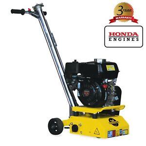 "Concrete Scarifier 8"" Planer Grinder Gas 5.5 HP Honda OSHA Compliant Trip Hazard"