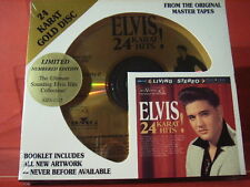 "DCC GZS-1117 ELVIS PRESLEY ""ELVIS 24KARAT HIT´S""(24 KT GOLD COMPACT DISC/SEALED)"