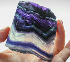 314Ct Natural Colorful Lace Fluorite Rough YVUp347
