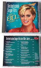 DEUTSCHE SINGLE-HITS DER 80ER (4) Stephan Remmler, Ingrid Peters..Polydor CD TOP