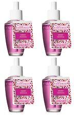 4 x Bath and Body Works MERRY MIMOSA Wallflowers Home Fragrance Refill Bulbs