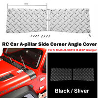 For 1/ 10 AXIAL SCX10 III JEEP Wrangler A-pillar Side Corner Angle Cover 1PC