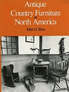 Antique Early American Country Furniture Detailed Drawings Photos / Scarce Book