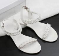 Zaxy NEW Fresh Bloom red flower womens flat fashion flip flops sandals size 3-8