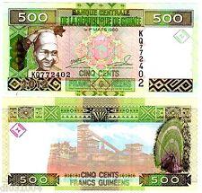 Guinee GUINEA Bilet 500 Francs GUINEES 2012 P39  FEMME  NEUF UNC