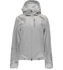 NEW Spyder Hera No Fur Ski Jacket Insulated Waterproof White Womens 8