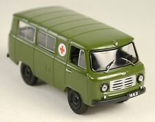 DeAgostini - PW - UAZ 450 Red Cross van - NEW IN PACKAGE - 1:43 - Free BE Ship!