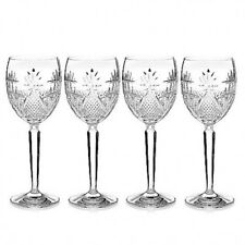 Waterford Crystal Seahorse Nouveau Goblets 9 oz Set of 4 # 40027974