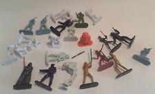 "Star wars figures minatures lot 2  2-2.5"" (S3)"