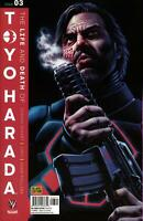 LIFE AND DEATH OF TOYO HARADA #3 CAFU Variant 2019 Valiant Comics NM