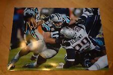 Luke Kuechly, Carolina Panthers, 11x14 autographed and signed photograph.