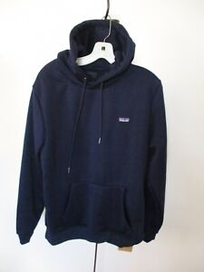 PATAGONIA Navy Blue P Classic Hoody Sweatshirt L - NEW